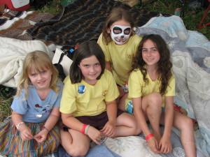 kids - four sitting